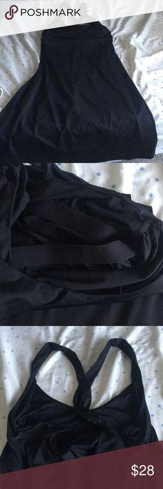 Patagonia Black bathing suit material dress Built in Bra in bathing suit type dress. Patagonia brand Patagonia Dresses