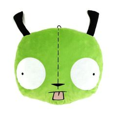Gir Pillow Plush Nickelodeon Invader Zim Hot Topic Very Well Loved Plush Dolls, Doll Toys, Backpack Hanger, Bunny Book, Pillow Pals, Dog Suit, Woody Wagon, Metal Lunch Box, Invader Zim