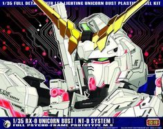 RX-0 Unicorn Gundam Bust 1/35 By Yi Hui Billion Spark Unboxing Review