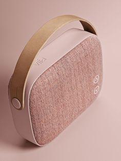 Helsinki - A new exclusive wireless loudspeaker from Vifa. Color: Dusty Rose