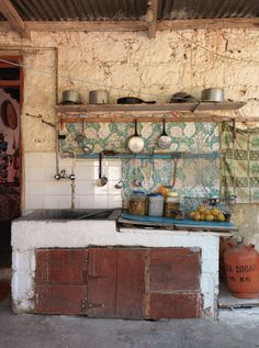Country Kitchen!  REAL country!  Introducing New Worlds With A Shrug: WOI: Cyprus