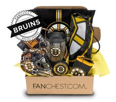 Bruins Memorabilia Gift Box | Signed Bruins Puck Included • FANCHEST