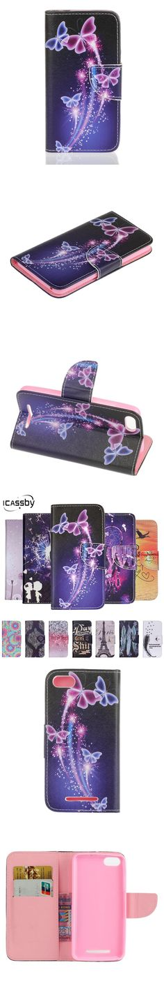 Flip Cases Phone Bags & Cases Nice Luxury Painted Cute Pattern Pu Leather Flip Coque Case For Wiko Lenny 2 Magnetic Stand Wallet Card Slot Fundas Cover Cases Hot Sale 50-70% OFF