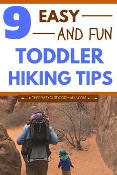 If you are going to hike with your toddler, you gotta be prepared to ensure they have fun and want to hike again! Check out these easy tips to keep your toddler excited about hiking! Hiking games, trail snacks for toddlers, and more are included! Next tim Hiking With Kids, Go Hiking, Hiking Tips, Hiking Gear, Travel With Kids, Camping Activities, Camping Crafts, Camping Hacks, Camping Ideas