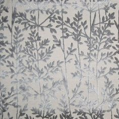 Voyage Highland Fabric Munro Embroidered Thistle In