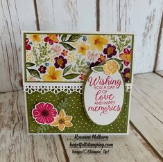 Rosanne Mulhern, Independent Stampin' Up Demonstrator Best Gift Cards, Gift Cards Money, Free Gift Cards, Flower Birthday Cards, Gift Wraping, Chiffon Dresses, Fall Dresses, Long Dresses, Prom Dresses