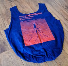 JAPANDROIDS - Upcycled T-shirt Purse via Etsy