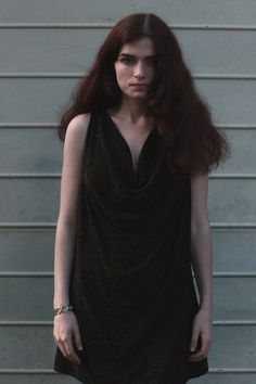 90s Grunge Disco Black Sparkly Party Dress or Top by SiouxsieGerms