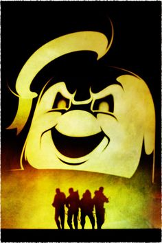 Ghostbusters Ghostbusters Theme, Ghostbusters The Video Game, Extreme Ghostbusters, Cinema Posters, Movie Posters, Ghost Busters, Pop Culture Art, Fantasy Movies, Cartoon Shows