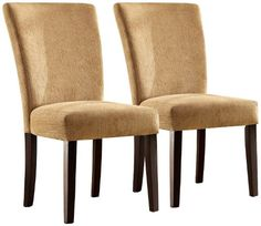 Homelegance Royal Camel Chenille Parson Chairs - Espresso - Set of 2 Homelegance http://www.amazon.com/dp/B00I5JP058/ref=cm_sw_r_pi_dp_Yge5tb1XEK9ZX