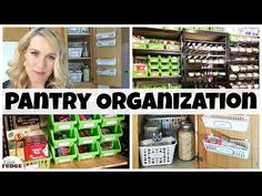DOLLAR TREE PANTRY ORGANIZATION IDEAS || Small Pantry Organization HACKS - YouTube