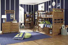 American Twin Bunk Bed In White Oak Veneer  - Homeclick Community