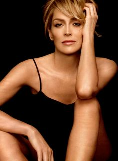 Doesn't get more glamorous than Sharon Stone.