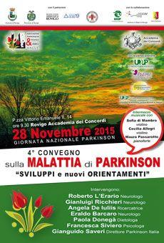 4° Convegno sulla malattia di Parkinson - Sviluppi e nuovi orientamenti