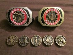 Mighty Morphin' Power Rangers Legacy Morphers by