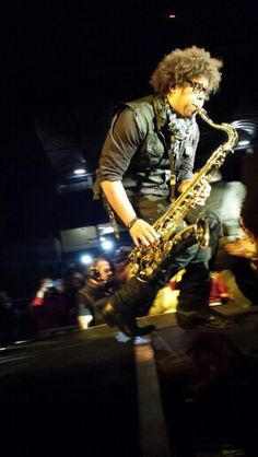 Jake Clemons - Bruce Springsteen and the E Street Band, live in Padova, Italy 31/05/2013