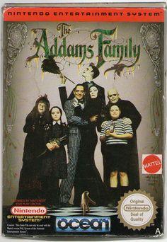 addams family nes - Google Search