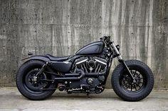Harley-Davidson Sportster_Really Fat Bad Ass Bike !