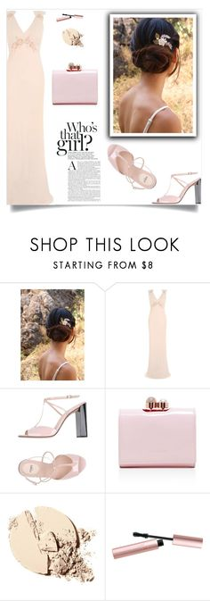 """""""Empire dreams!"""" by samra-bv ❤ liked on Polyvore featuring Topshop, Fendi, Ted Baker, Too Faced Cosmetics and vintage"""