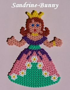 Princess hama beads