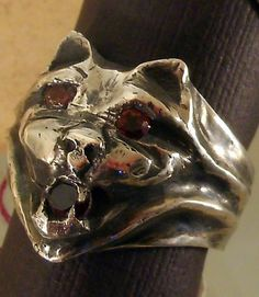 12th Century Medieval Gargoyle protection ring by rwgoldsmith, $300.00