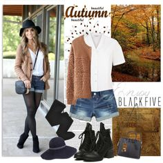 Shorts for Fall by lavendergal on Polyvore featuring Eastex, Gerbe, J.Crew, Mademoiselle Slassi, ASOS and BlackFive