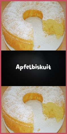 Apfelbiskuit Ingredients 4 egg (s) 150 g sugar 80 g butter 160 g flour 40 g cornstarch (Maizena) 80 ml milk pack baking powder 3 apples (c … … Apple Sponge Cake, Apple Cake, Apple Banana Bread, German Baking, Almond Cakes, Cake Ingredients, Cakes And More, Cupcake Cookies, Christmas Treats
