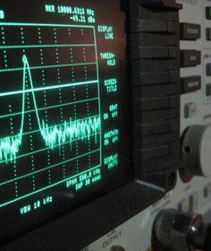 RF Spectrum analyzer.  www.wave-scientific.com