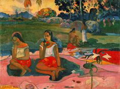 Gauguin  Postimpressionist- based on expressiveness through color     Interaction in culture different from own