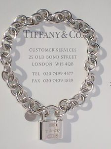 STUNNING Tiffany & Co 1837 Padlock Bracelet Limited Edition + Paperwork June 2012