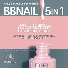 BB Nail 5 in 1 - Care & Make Up per unghie Make Up - Idratante - Ossigenante - Elasticizzante - Waterproof