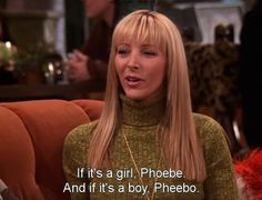 Phoebe Buffay of #Friends is most definitely my spirit animal