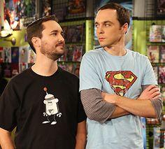Wil Wheaton VS. Sheldon Cooper