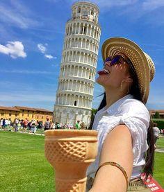 🎶Come on let's fill it again🎶  Visit us to taste a real #organic #italian #icecream!  #Gunny = #Yummy   #Repost @msabbyj ・・・  #Pisa 😋🇮🇹👅🍦 #travel #happiness #leaningtowerofpisa #italy #efcollegebreak #traveller #travelgram  #wanderlust  #freespirit #fun #solotravel #positivevibes   #visitPisa  #instafood #icecreamporn  #pisaconnection #volgopisa #vivopisa #gelatonaturale #yallers #yallersitalia #instafood #instagood #instamood