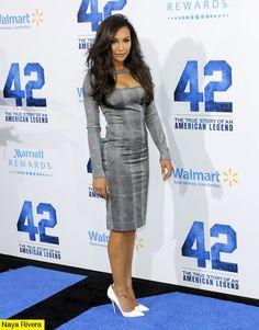 Naya Rivera - 42 Premiere Dress