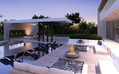 Outdoor Living - Kitchen, Lounge area LOVE! | Future ...