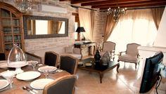 Villa Okalia, Nea Magnisia, Rethymno: Luxury and comfort in a traditional… Rethymno Crete, Crete Greece, Swimming Pools, Villa, Traditional, Luxury, Bedroom, Decoration, Table