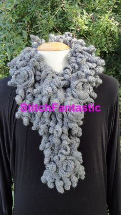 Looking for your next project? You're going to love Sculpted Roses Cowl by designer StitchFantastic. - via @Craftsy
