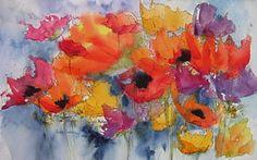 Floral Fantastic Art Print by Anne Duke