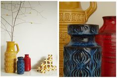 Vases-pinned by www.auntbucky.com #vase #home #midcentury