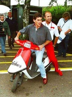 Ayrton Senna & Joe Ramierz