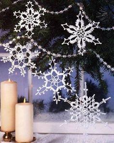 крючком снежинки на Latasha