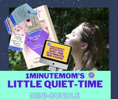 Mom, get your hands on this beautiful, powerful Quiet Time Mini-Bundle. - Learn how to have effective , powerful quiet times, even if your mind is racing. Now on sale for 48 hours, or while stocks last. 50% off