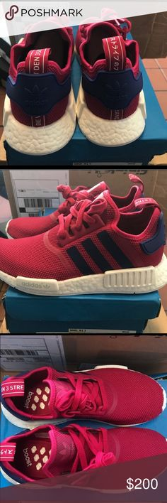 NMD's Adidas Woman's I have a Woman's size 7 and size 8. Brand New and never been worn. Sold out everywhere. message for more information Adidas Shoes Athletic Shoes