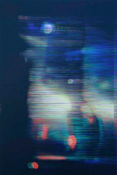 redlipstickresurrected:  James Hoff (American b. 1975 Fort Wayne IN based Brooklyn NY USA) - 74 Skywiper48 Chromaluxe Transfer on Aluminum  #art #abstract #minimal #geometric