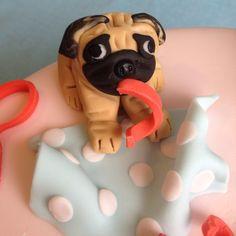 pug cake AGGGGGGGGGGGGH!