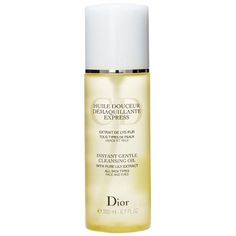 Best New Cleansing Oil - Dior Instant Gentle Cleansing Oil