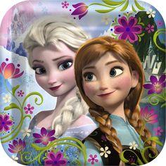 Disney Frozen - Square Dinner Plates, 91988