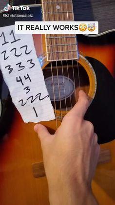 Learn Acoustic Guitar, Guitar Tabs Songs, Ukulele Chords Songs, Easy Guitar Songs, Guitar Chords For Songs, Guitar Chord Chart, Music Guitar, Acoustic Guitars, Easy Guitar Tabs