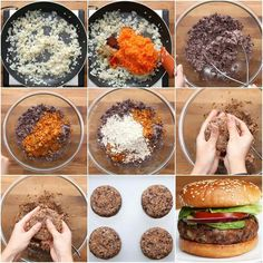Easy Black Bean Burgers: The Effective Pictures We Offer You About whole food Vegan Recipes A quality picture can tell you many things. Vegan Keto, Vegan Foods, Vegan Dishes, Vegan Lunches, Vegan Vegetarian, Whole Food Recipes, Cooking Recipes, Healthy Recipes, Easy Recipes
